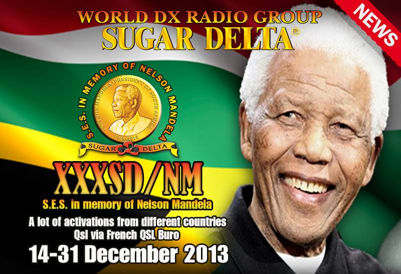 QSL Activation de Nelson Mandela